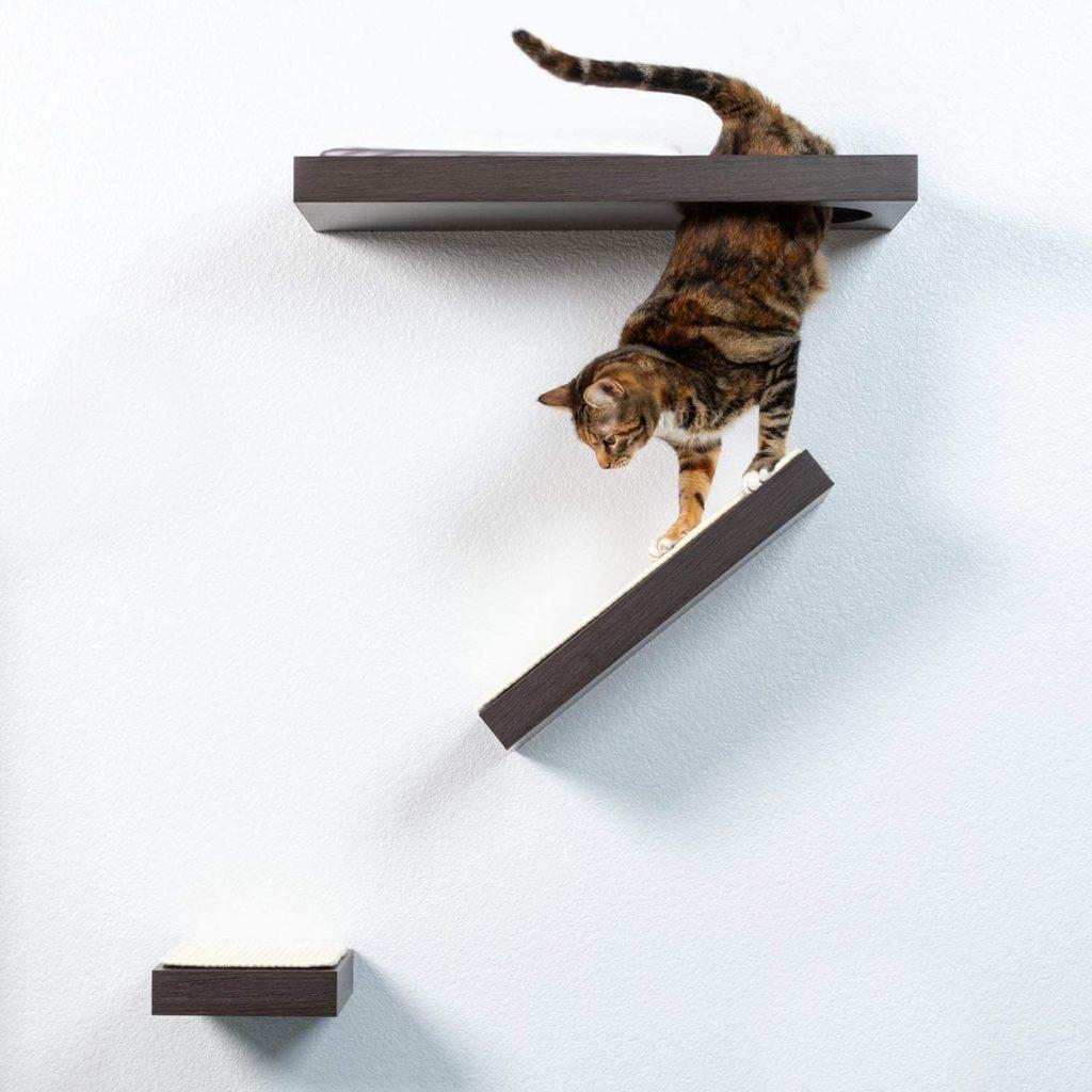 PetFusion Cat Activity Wall Shelves