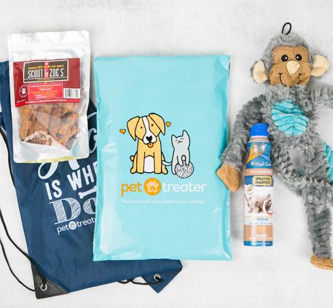 Pet Treater Dog Subscription Box