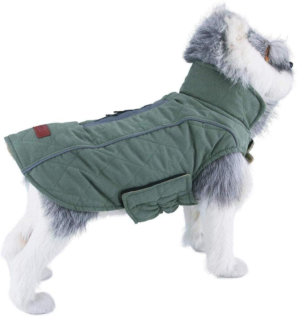 ThinkPet Reversible Winter Dog Coat