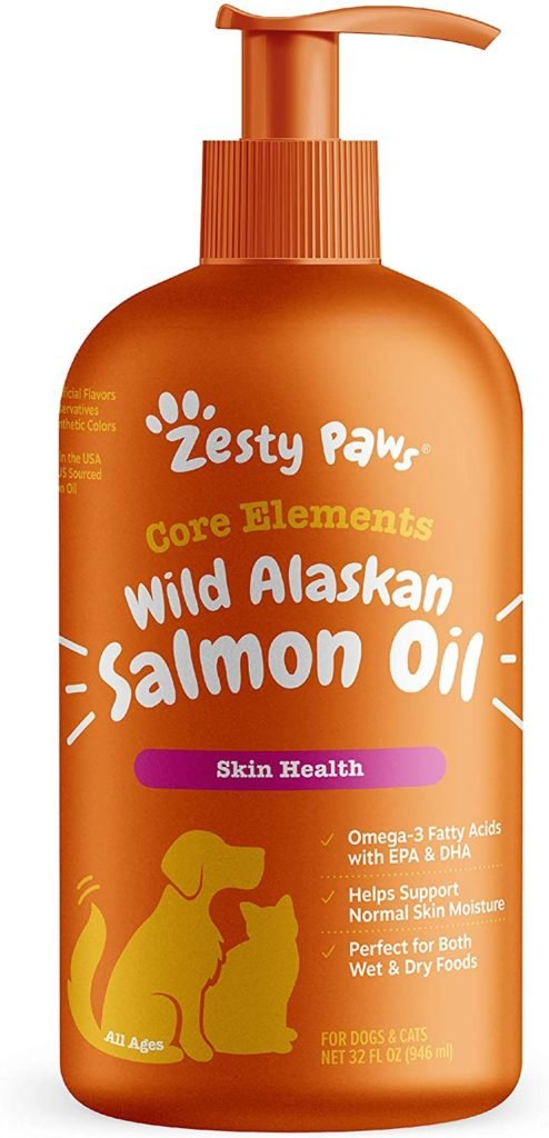 Zesty Paws Wild Alaskan Salmon Oil