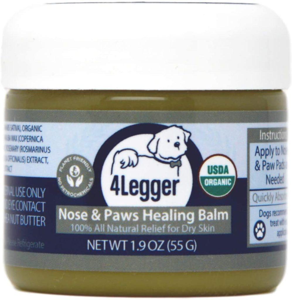 4-Legger Organic Nose and Paw Pad Healing Balm
