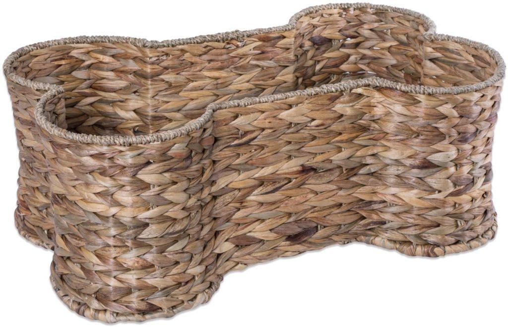 Bone Dry Hyacinth Pet Storage Basket