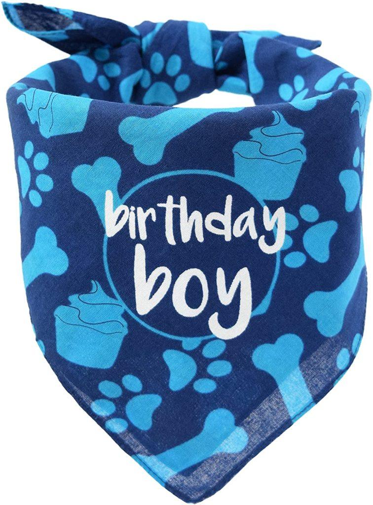 Hecho Dog Birthday Bandana