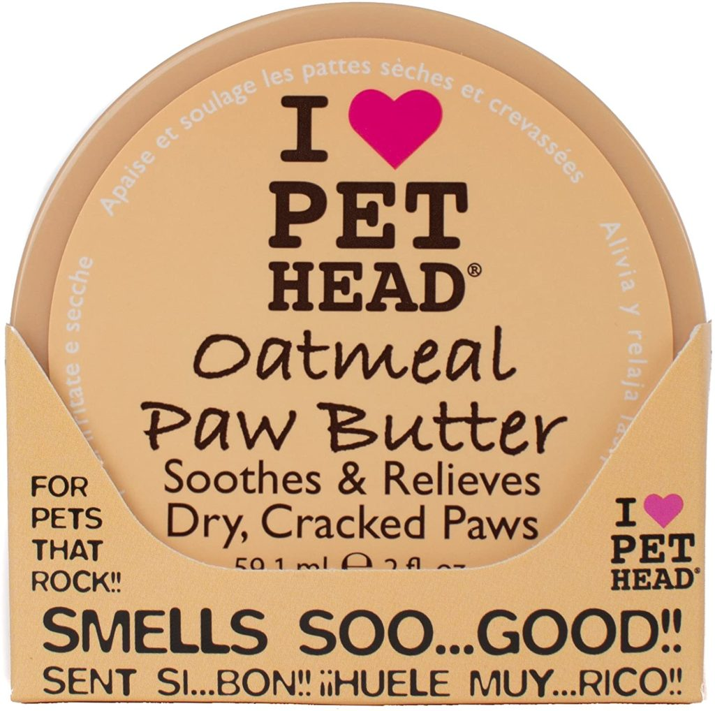 I Love Pet Head Oatmeal Natural Paw Butter