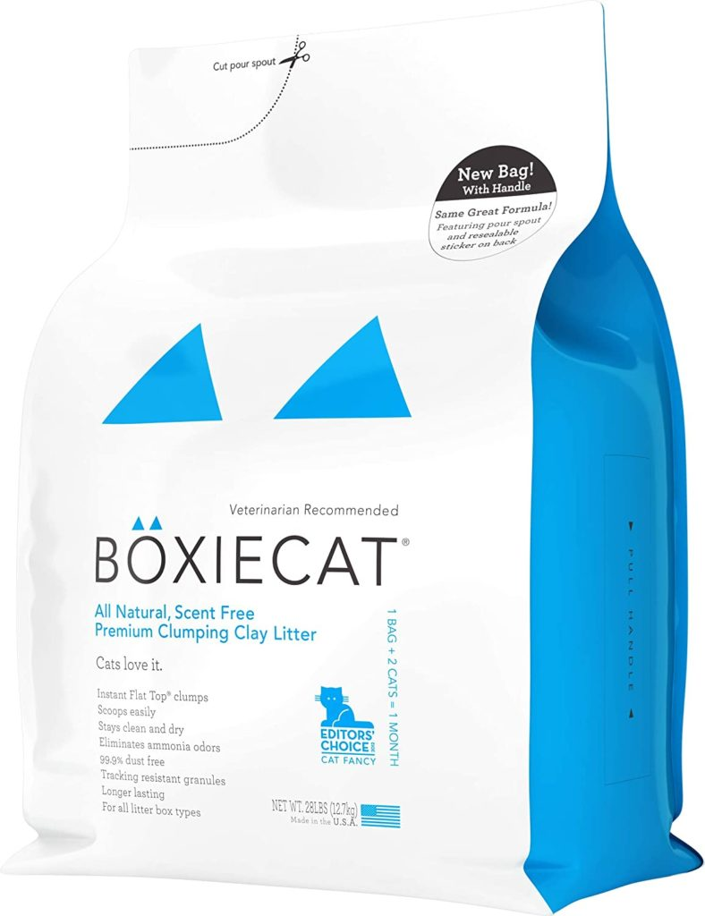 Boxiecat 101 Premium Clumping Cat Litter for Multiple Cats