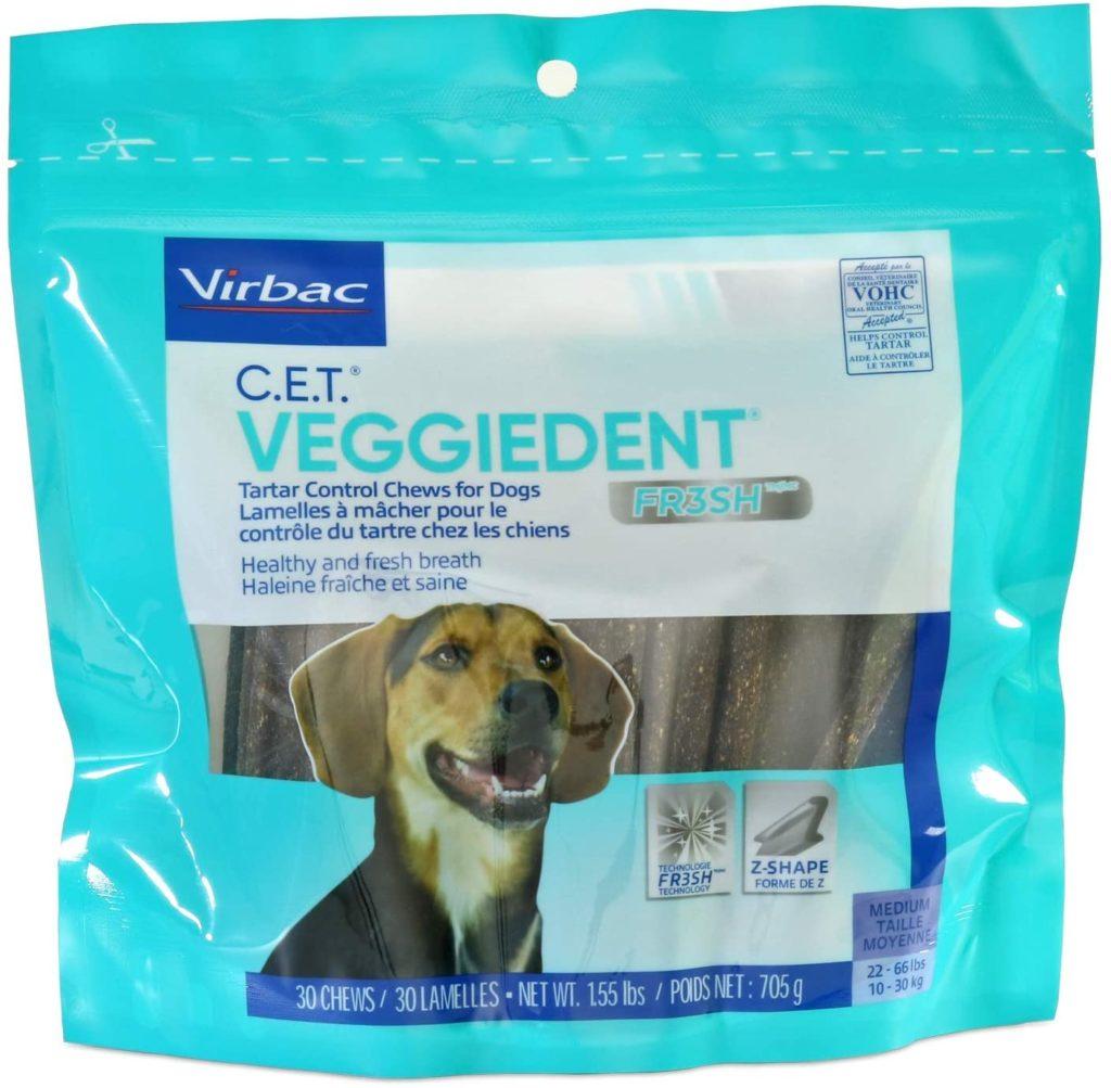 C.E.T. VeggieDent Vegan Dog Treats