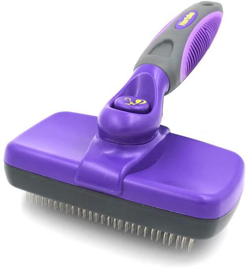 Hertkzo Self-Cleaning Slicker Cat Brush