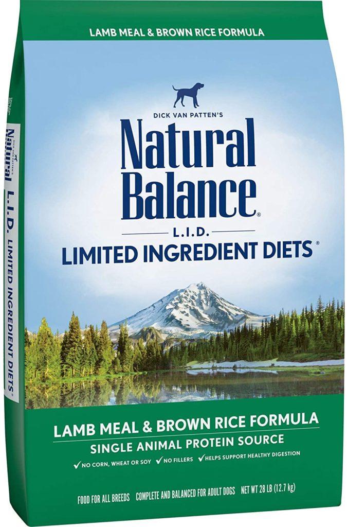 Natural Balance Limited Ingredient Diet Lamb and Brown Rice Formula