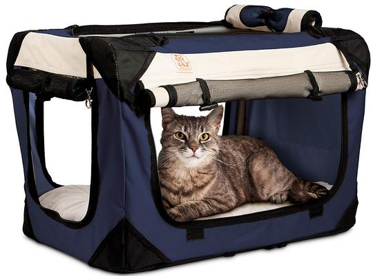 PetLuv Soothing Soft-Sided Cat Carrier