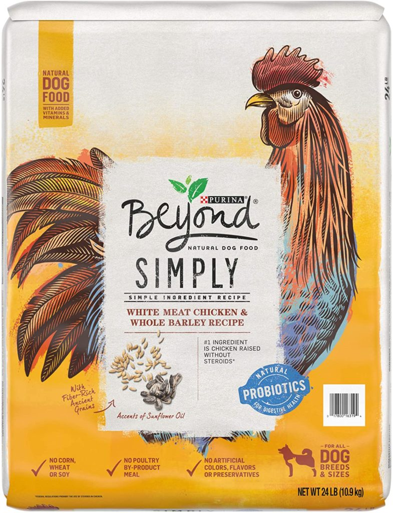 Purina Beyond Simply Dog Food for Dogs with Allergies