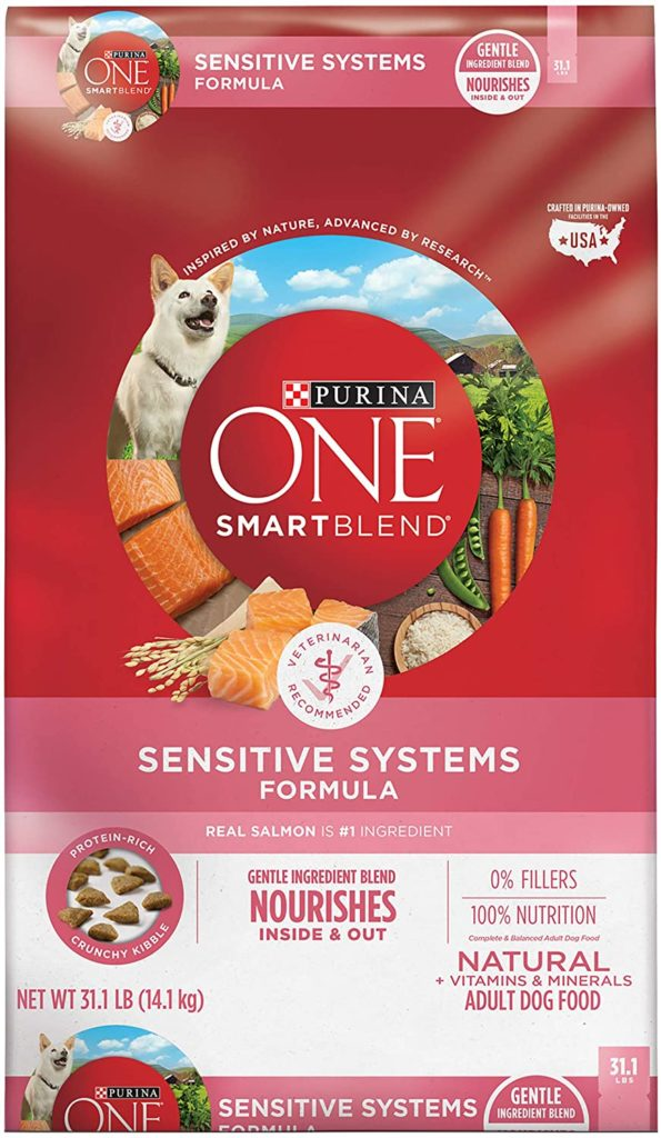 Purina ONE Sensitive Systems Dog Food for Dogs with Allergies