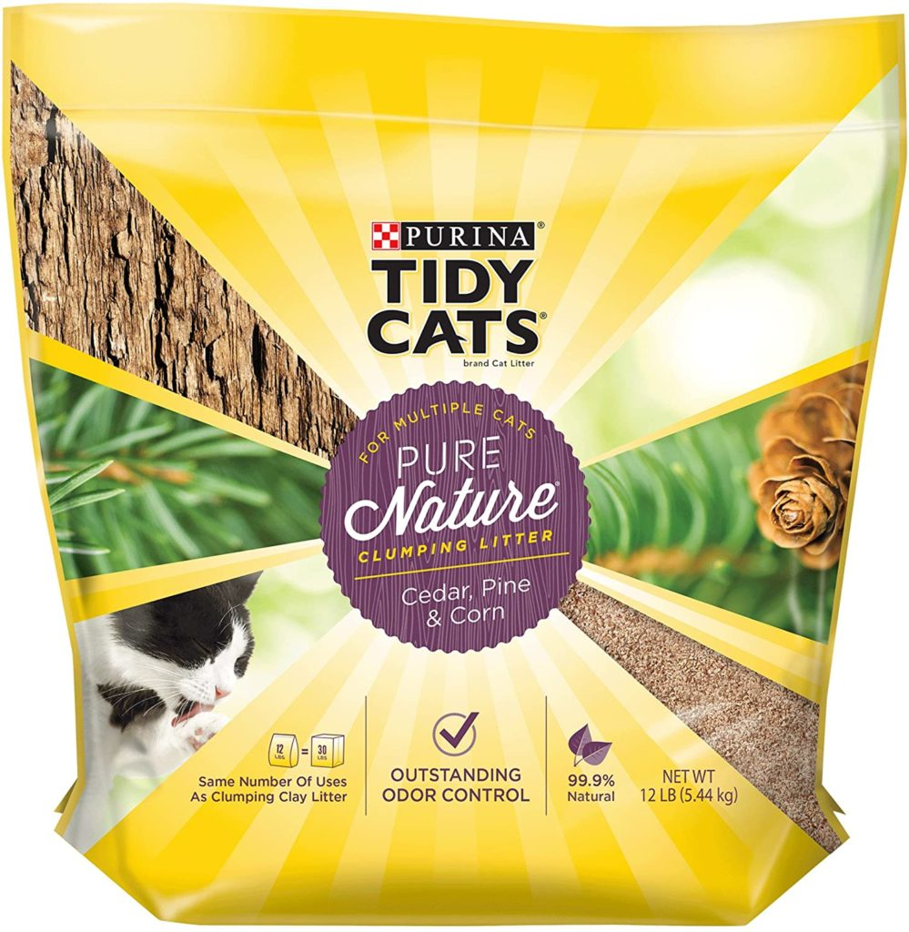 Tidy Cats Pure Nature Litter for Multiple Cats