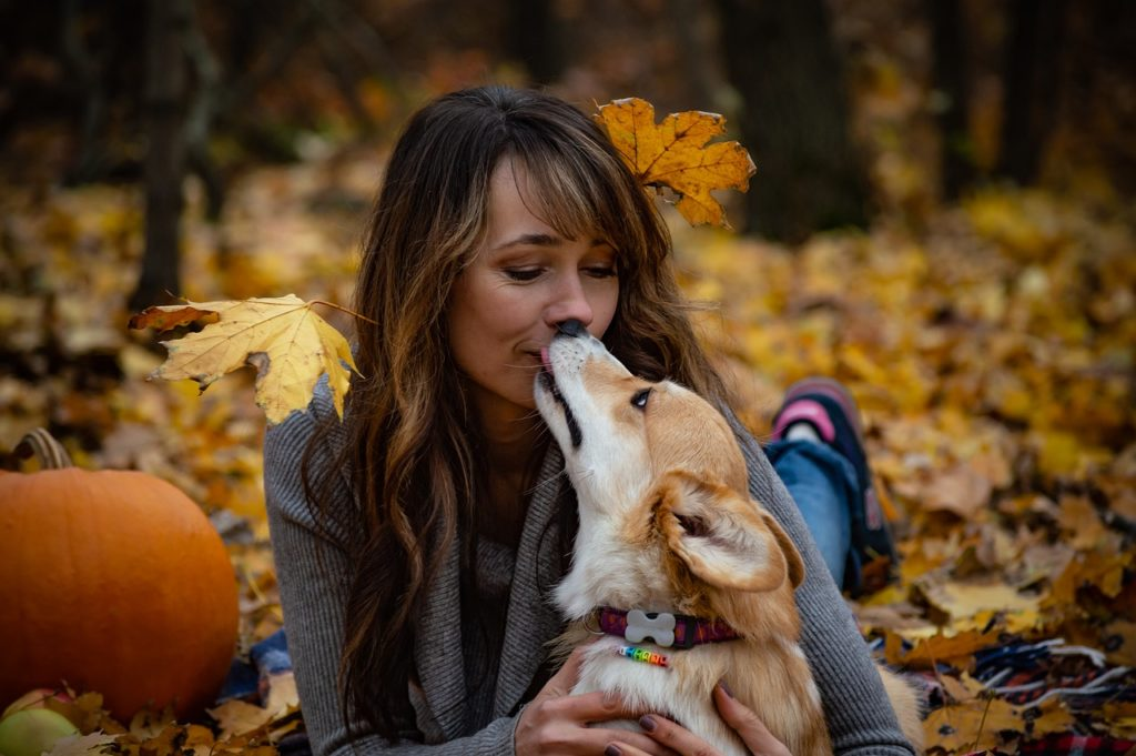 For a lot of people, doggie kisses are the best