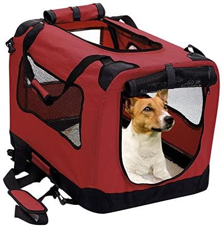 2Pet Foldable Soft Dog Crate