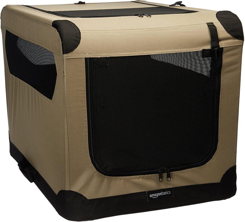 Amazon Basics Soft Dog Travel Crate