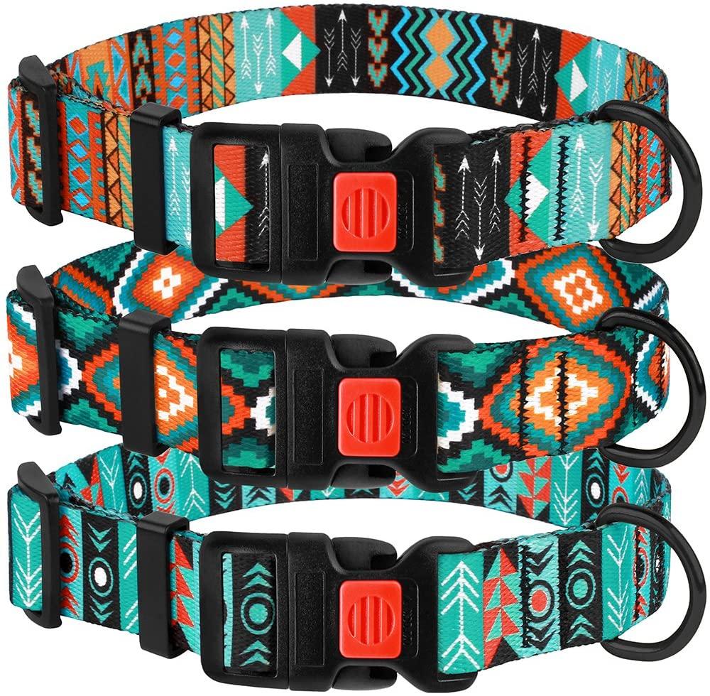 CollarDirect Tribal Nylon Dog Collar