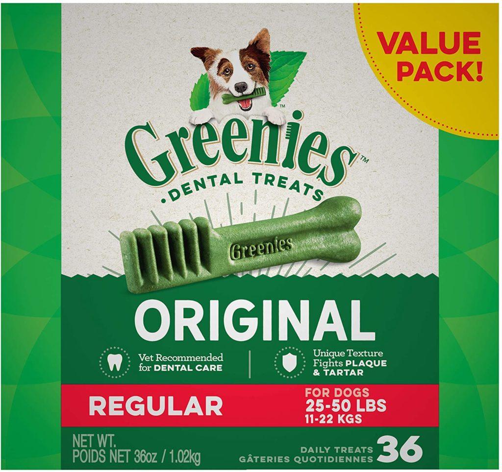 Greenies Dental Dog Treats