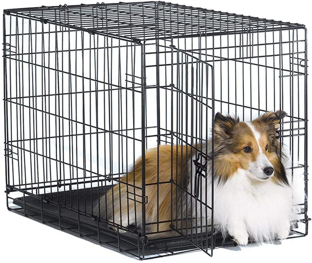 New World Folding Metal Dog Crate