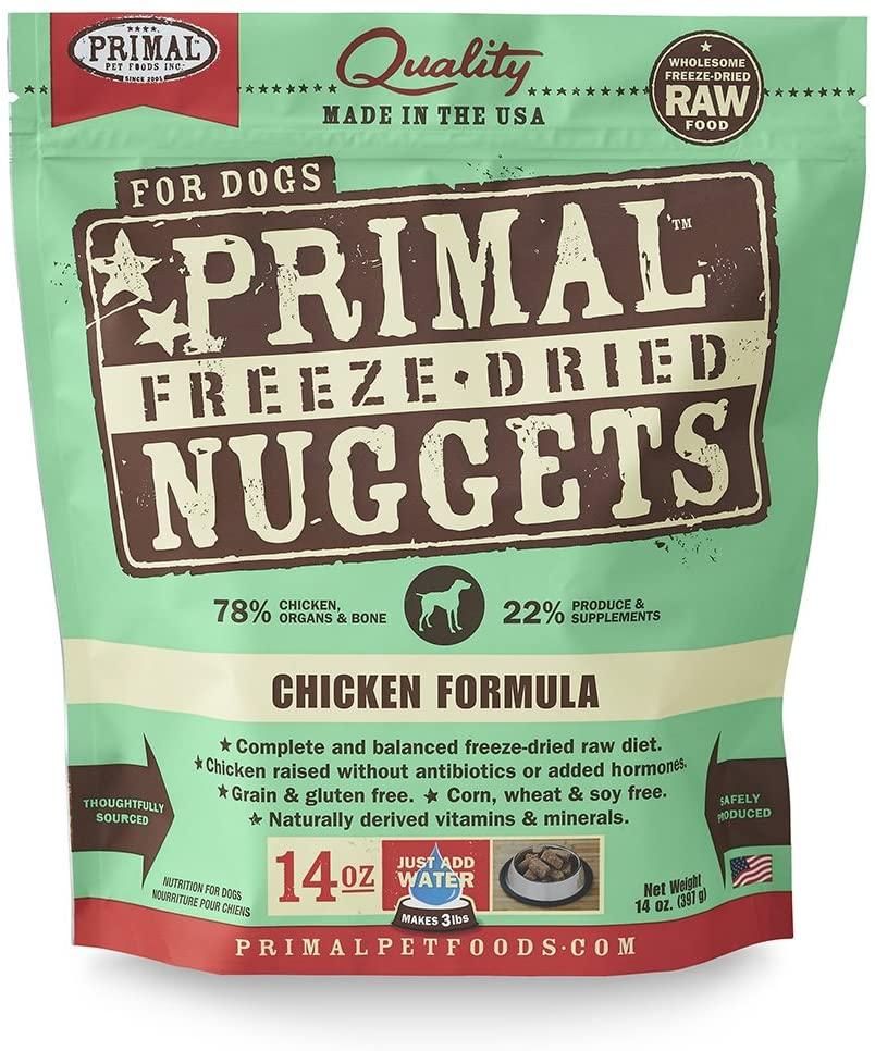 Primal Freeze-Dried Nuggets Raw Dog Food