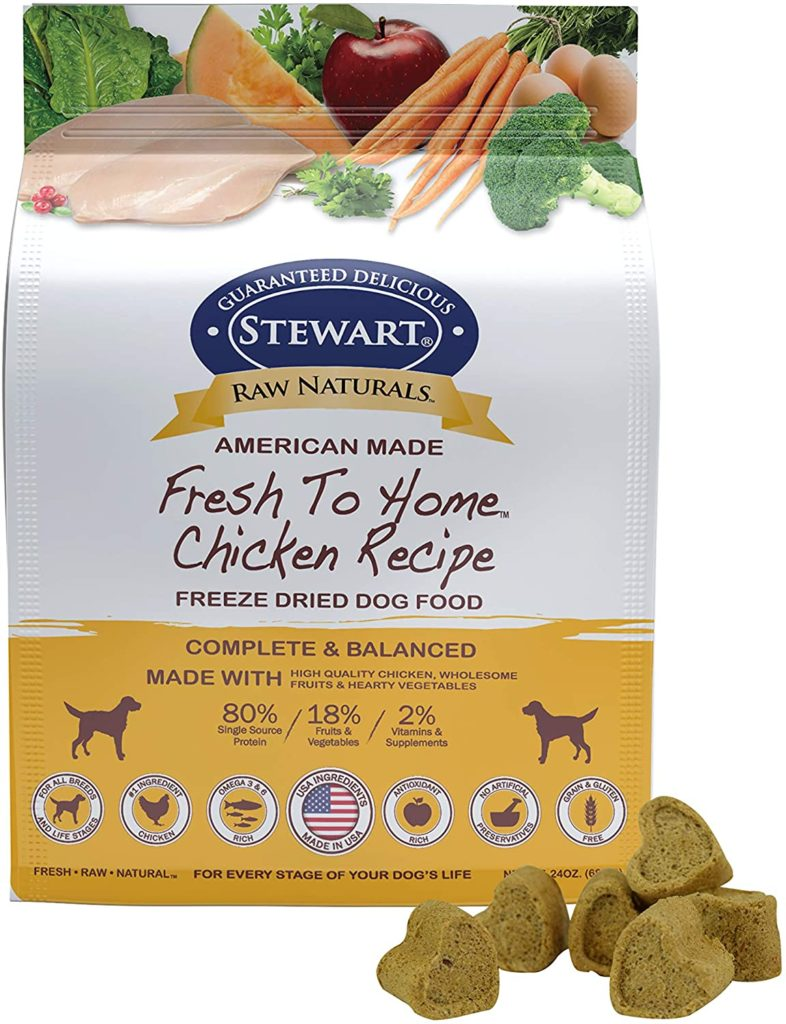 Stewart Raw Naturals Raw Dog Food