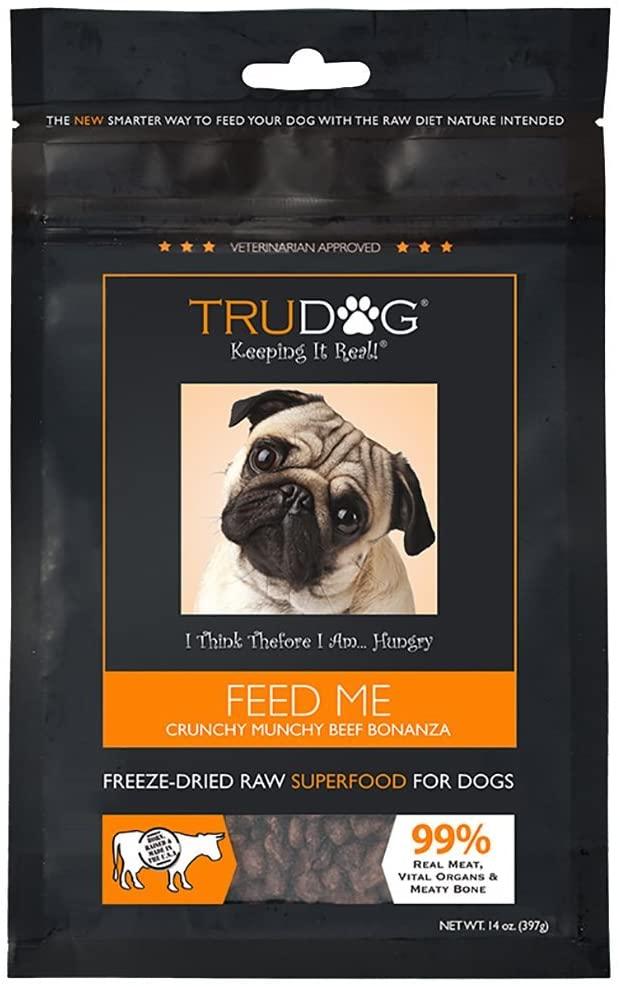 TruDog Feed Me Freeze-Dried Raw Dog Food