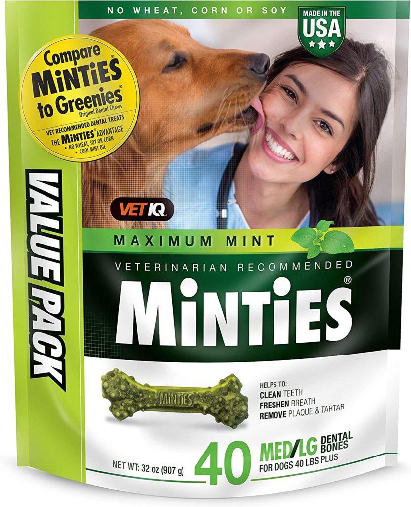 Vet IQ Minties Dog Dental Chews