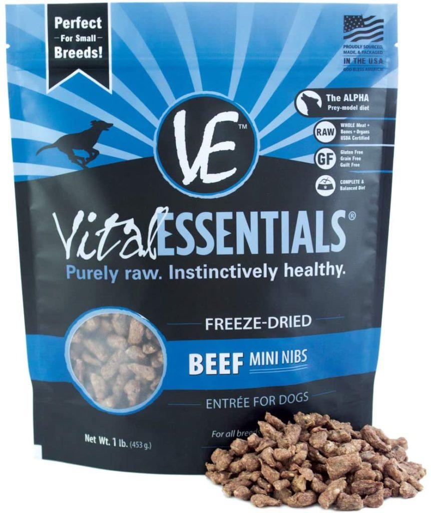 Vital Essentials Grain-Free Freeze-Dried Dog Food