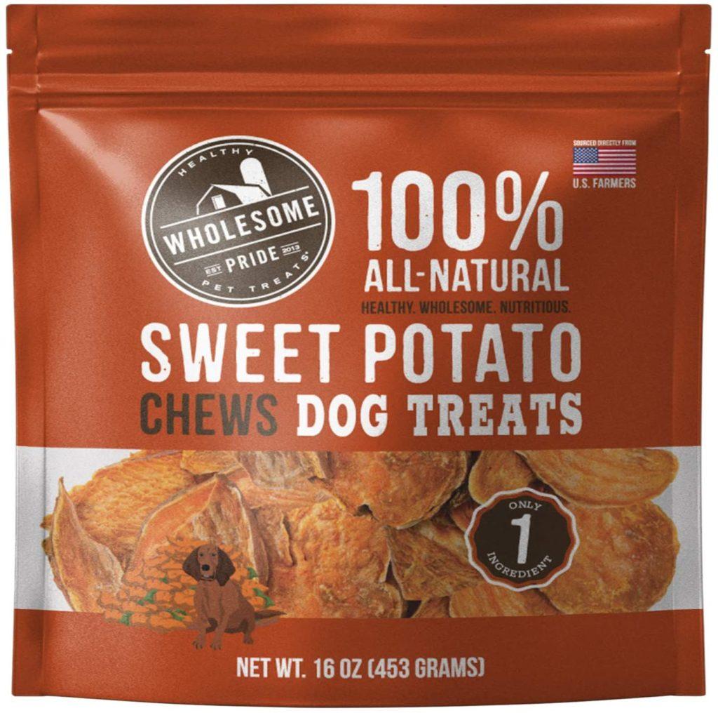 Wholesome Pride Sweet Potato Treats