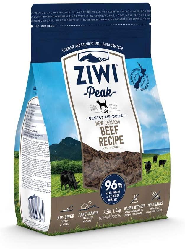 Ziwi Peak's Air-Dried Dog Food