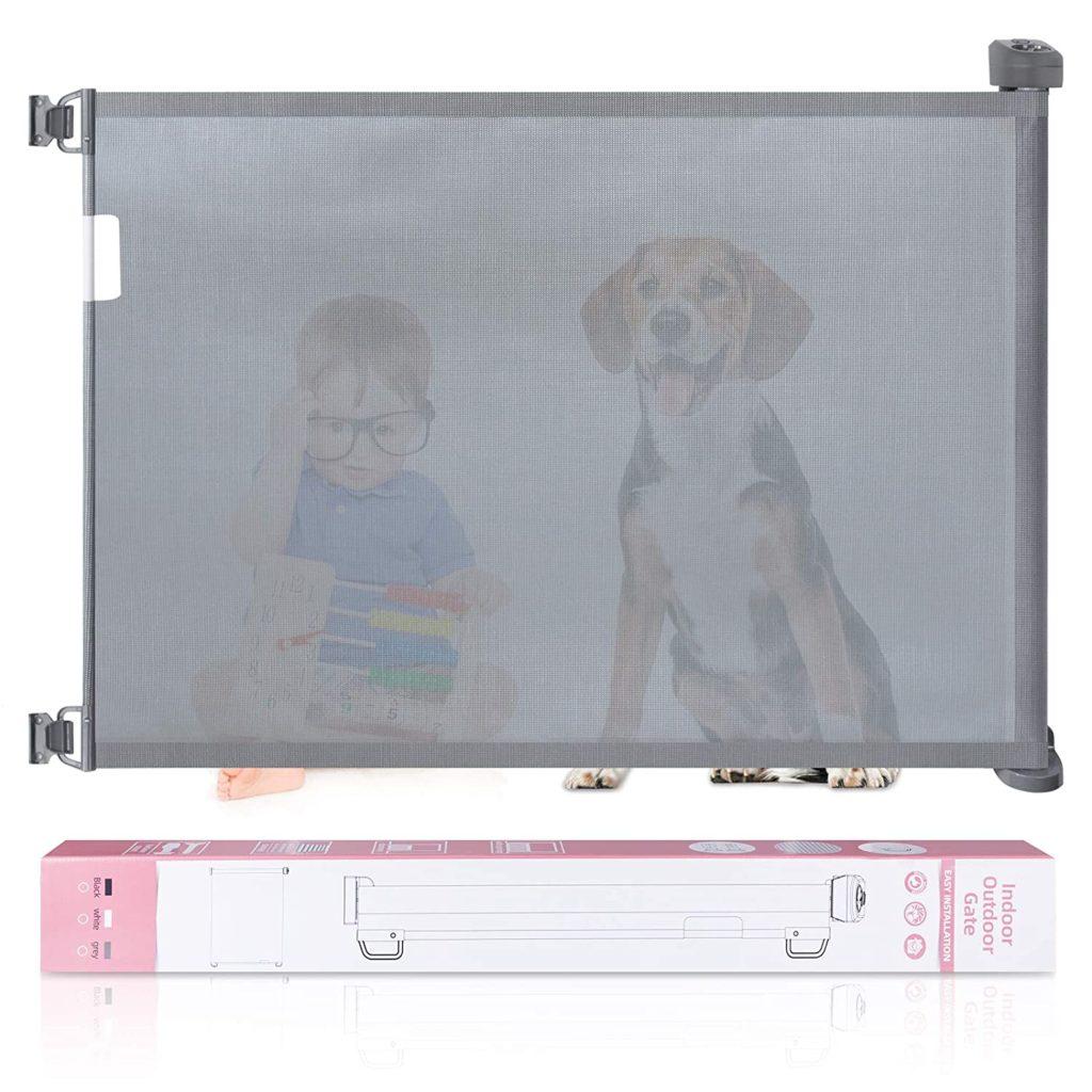 Babepai Retractable Dog Gate