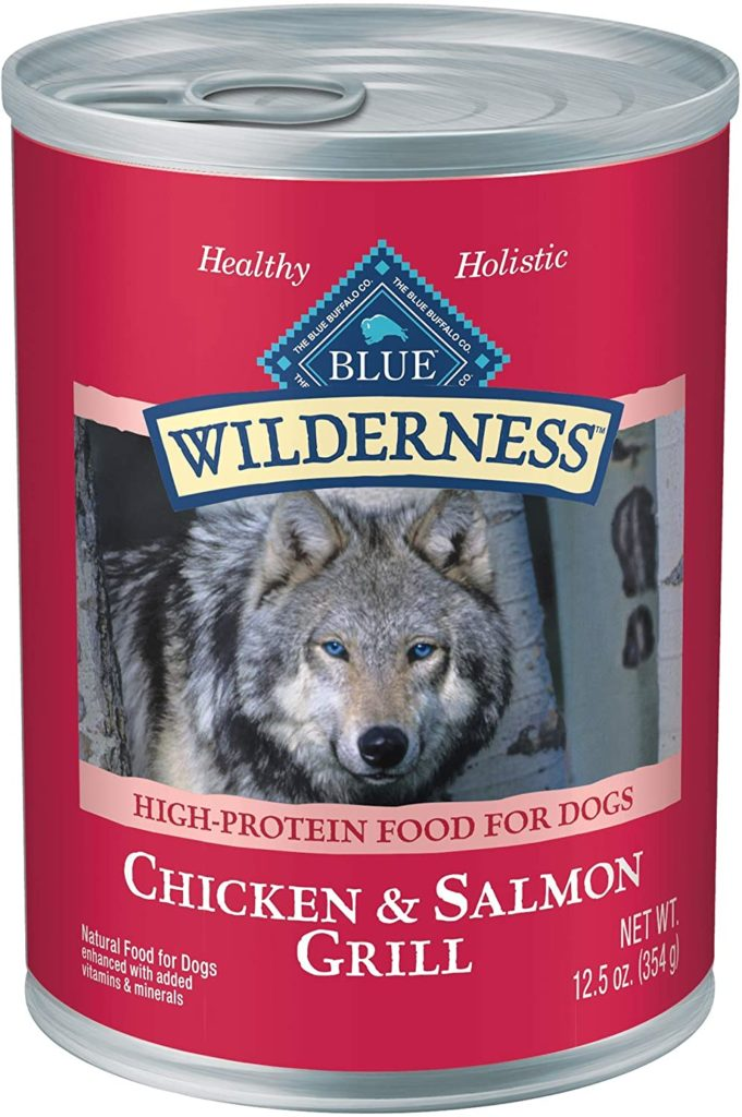 Blue Buffalo Wilderness High Protein Canned Dog Food