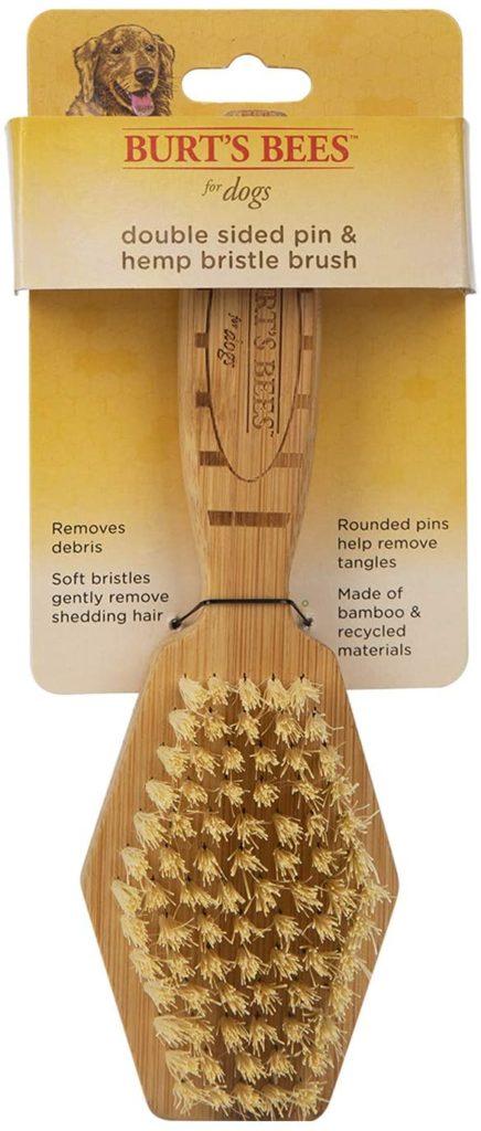 Burt's Bees Double-Sided Pin and Hemp Bristle Brush