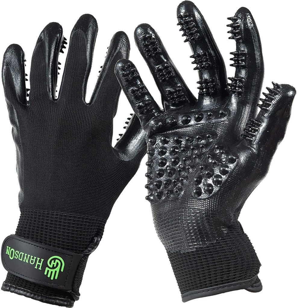 HandsOn Bathing & Grooming Gloves