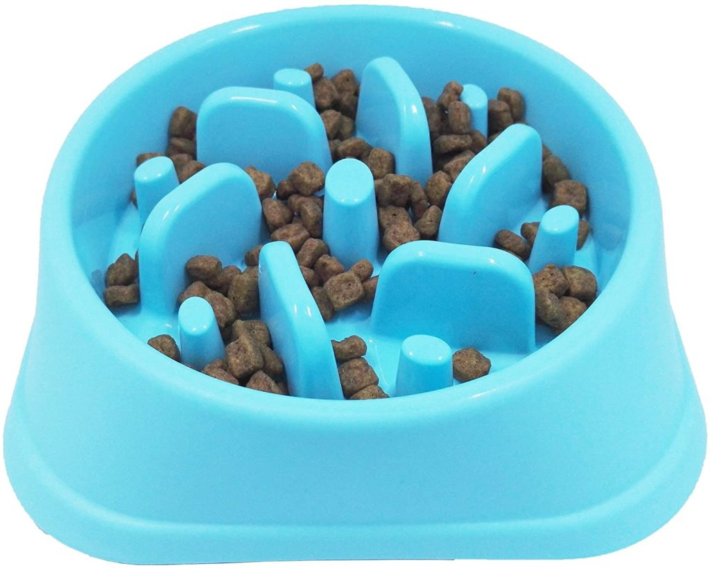 Jasgood Slow Feeding Dog Bowl