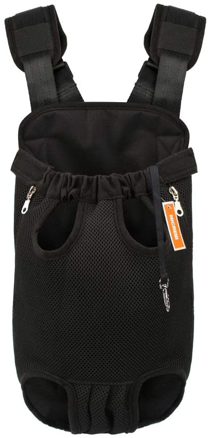 Nicrew Legs Out Front Dog Carrier Backpack