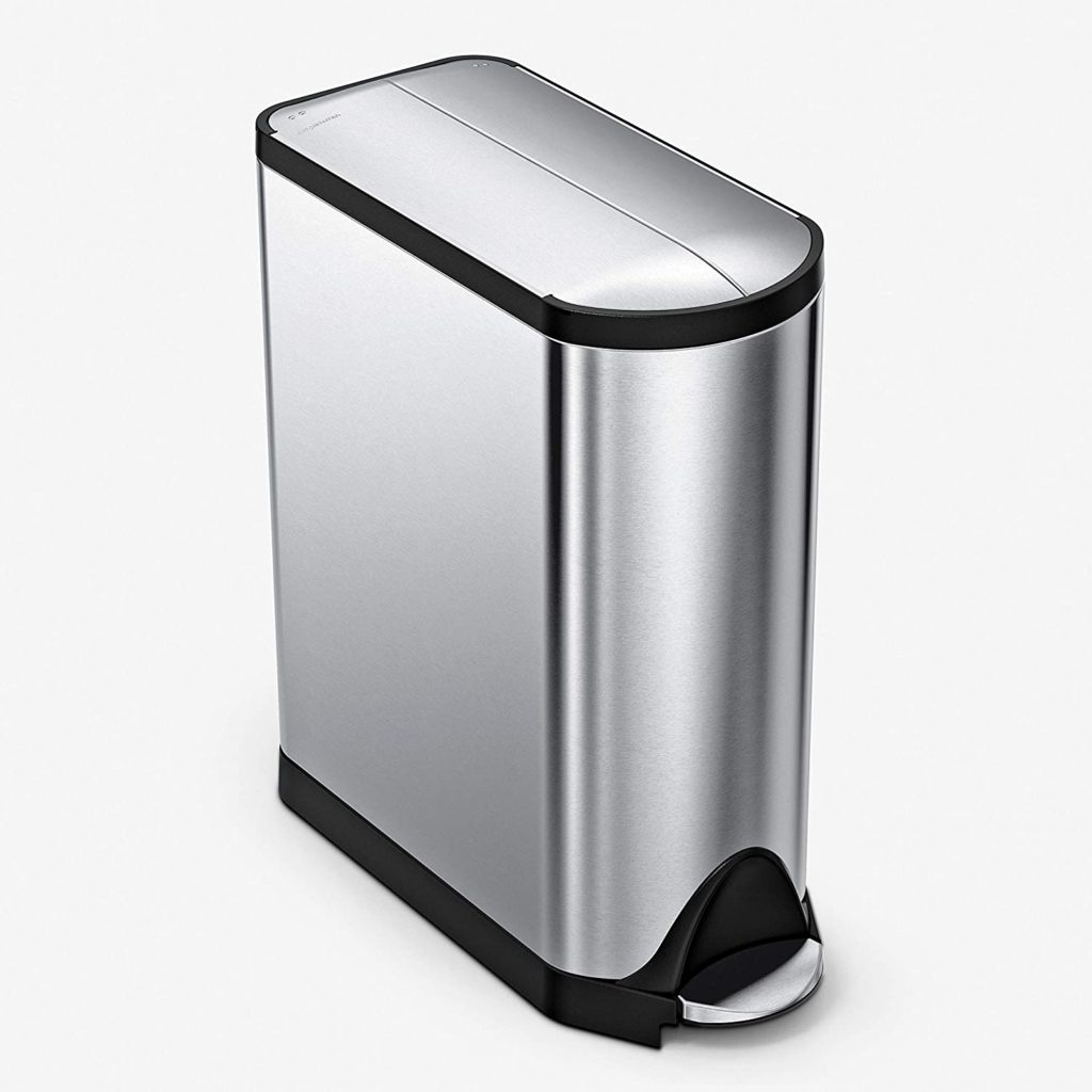 SimpleHuman Butterfly Dog-Proof Trash Can