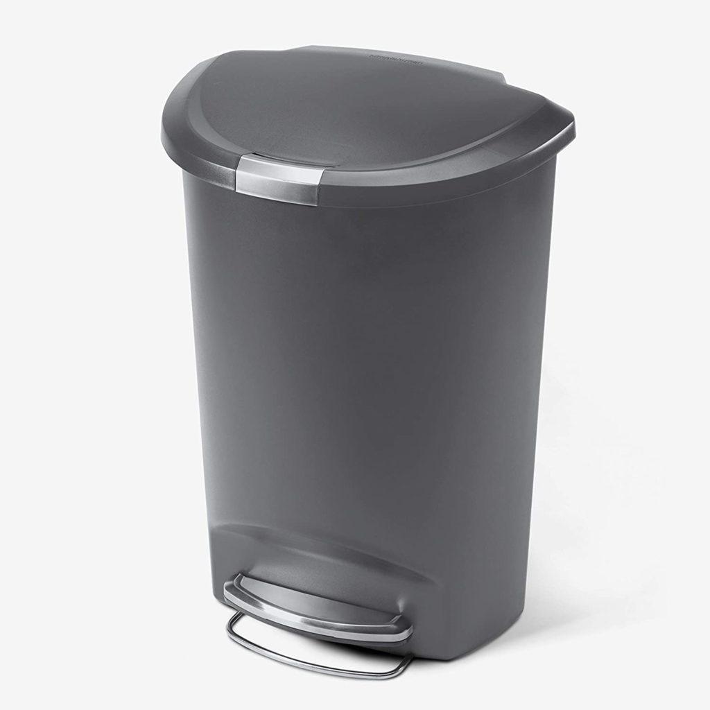 SimpleHuman Semi-Round Trash Can