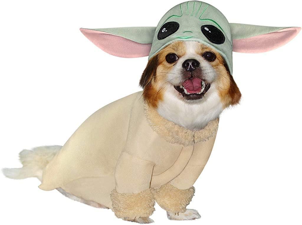 Star Wars Mandalorian The Child Baby Yoda Dog ostume