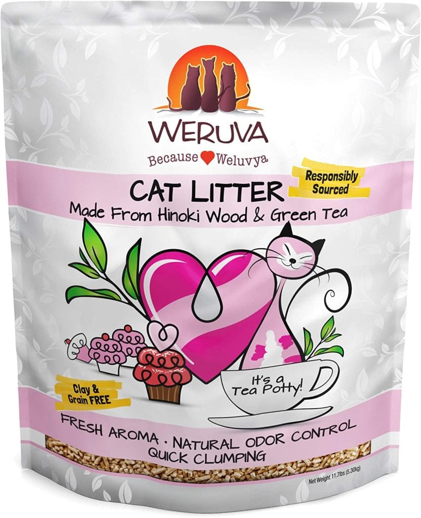 Weruva Natural Flushable Cat Litter