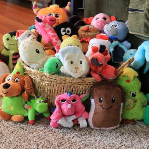 Dog toy storage helps you wrangle all your pup's toys in one place